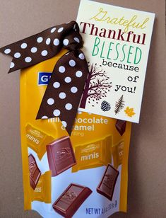 FREE Thanksgiving Printable. Attach it to ANYTHING! From Marci Coombs Blog