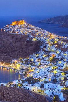Astypalaia in Greece is a Greek island with residents Places Around The World, The Places Youll Go, Great Places, Places To Go, Around The Worlds, Beautiful Islands, Beautiful World, Beautiful Places, Myconos