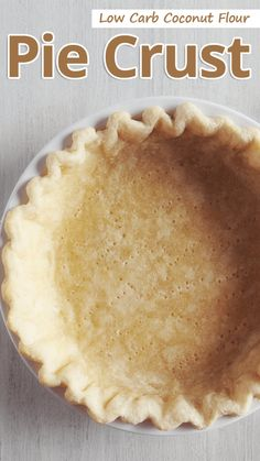 Recommended Tips:Low Carb Coconut Flour Pie Crust - Recommended Tips Want the perfect pie crust that isn't made with almond flour? Give this simple low carb coconut flour pie crust a try for both sweet and savory pies. Healthy Low Carb Dinners, Low Carb Dinner Recipes, Low Carb Desserts, Keto Recipes, Dessert Recipes, Coconut Flour Recipes Keto, Desserts With Coconut Flour, Coconut Flour Cakes, Tuna Recipes