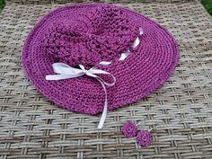 Handmade crochet sunhat for summer fun Summer Hats, Summer Fun, Sun Hats, Tortoise, Crochet Hats, Handmade, Tortoise Turtle, Knitting Hats, Turtles
