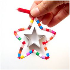 fun pipe cleaner stars, several options, fun for kids