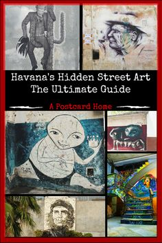 Havana's history is in it's art! Check out this graffiti guide to Cuba, to understand how it represents everything from politics to Picasso https://apostcardhome.co.uk/2017/06/12/334/ | Travel Inspiration | Caribbean |