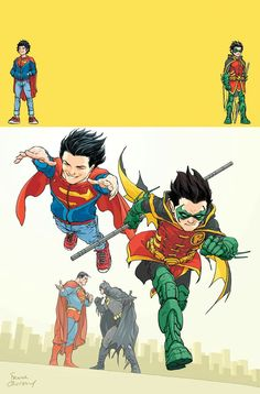 #SuperSons Robin (Damian Wayne) & Jon Kent
