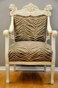 I want something Zebra Patterned in our house!