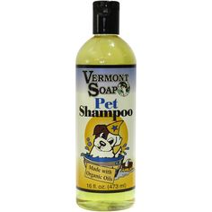 Vermont Soap Organics -Certified Organic - Pet Shampoo 16oz >>> You can find more details by visiting the image link. (This is an affiliate link and I receive a commission for the sales)