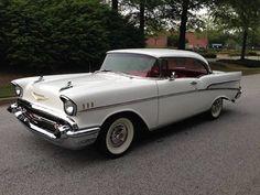 1957 Chevrolet Bel Air Sport Coupé.