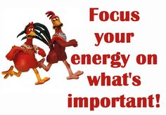 Focus your energy and time on what really matters and let go of all the things that don't!