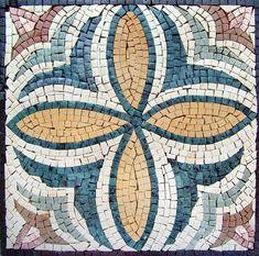 Das Bloom Mosaik Blumenmuster von Mozaico auf Etsy
