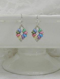 Woven Super Duo earringsWoven earringsLeverback