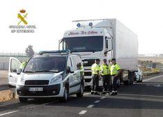 Interceptado un camionero conduciendo un tráiler de 40 toneladas bajo los efectos del cannabis y anfetaminas