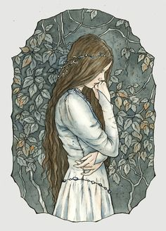 Anaire, wife of Fingolfin, mother of Fingon,Turgon and Aredhel  #LOTR #Silmarillion #elves