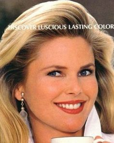 The Face of the 80s - Cover Girl Christy Brinkley