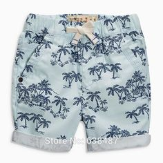 Quality 100% Woven Cotton New 2016 Branded Baby Boys Clothing Kids Children Clothes Casual Pants Beach Shorts Summer Boys Pants