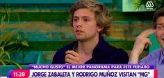 El terrible fail de Joaquín Méndez con Jorge Zabaleta que sacó risas en Mucho Gusto - BioBioChile