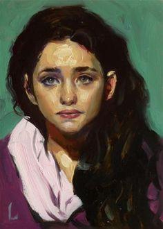 "Daily Paintworks - ""Coiled"" - Original Fine Art for Sale - © John Larriva"
