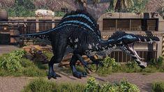 Primal Carnage, Spinosaurus, Dinosaur Art, Werewolf, Dragons, Lion Sculpture, Workshop, Creatures, Statue