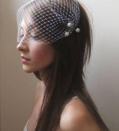 Birdcage Veil Ideas for Stylish Brides