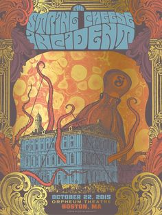 Image of String Cheese Incident - Boston Gold Foil Variant