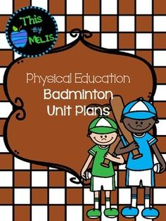This Badminton Unit Plan was designed for the Elementary School aged group, more specifically Kindergarten through to Fourth Grade. Included in this package are 10 games/lessons that have been placed in the order I have taught them in my physical education classes. Elementary Pe, Kindergarten, Gym Classes, Unit Plan, Fourth Grade, Grade 3, Physical Education, Alter, Physics