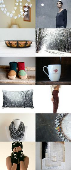 CHIN UP, BOOTS ON, MUG in hand ... by Pam Robinson on Etsy--Pinned with TreasuryPin.com