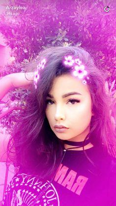 On Arzaylea's Snapchat