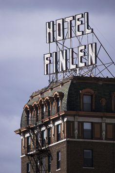 Butte America Hotel Finlen built in 1924