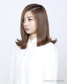 Out-Curl Cushion Perm 아웃컬 쿠션펌 Hair Style by Chahong Ardor