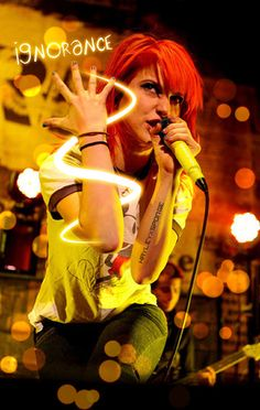 Hayley Williams that's what you get when you let your heart win