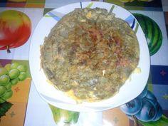Frittata con carciofi e pancetta!!!