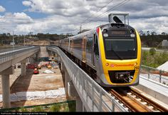 RailPictures.Net Photo: 292 Queensland Rail EDi/Bombardier Suburban Multiple Unit 260 Series at Springfield, Australia by Peter Reading