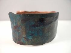 COPPER CUFF METAL Bracelet Men or Women with by TnBCdesigns, $34.00