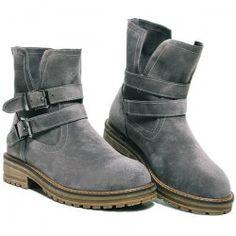 Flat Heel Dark Colour Short Boots | TwinkleDeals.com