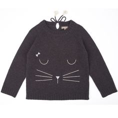 Pullover Chat by Emile et Ida.