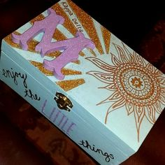 Kappa Delta sorority memory box big little clue week diy