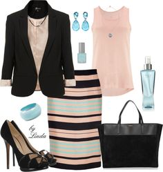 """""""Dress for Success"""" by lindakol on Polyvore"""