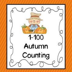 1-100 Counting (Autumn Themed)