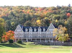 The Inn at Silver Bay.  Built in 1902 on the grounds of the Thomas Paine Estate.  It is now a YMCA facility.