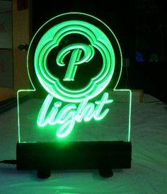Acrylic LED Edge Lighting Sign