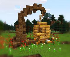 Affable superseded minecraft building ideas Visit us at Casa Medieval Minecraft, Minecraft Statues, Minecraft Garden, Minecraft Structures, Minecraft Cottage, Cute Minecraft Houses, Minecraft Room, Minecraft Plans, Amazing Minecraft