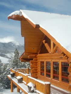 Snow-capped Cabin