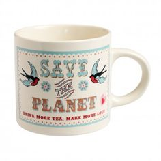 Save The Planet Mug | DotComGiftShop