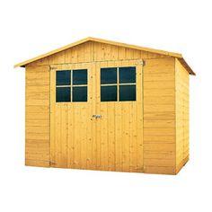 Abri de jardin en bois, modèle Anvers Shed, Outdoor Structures, Antwerp, Barns, Sheds