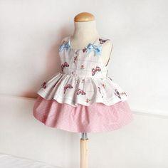 Vestido para niña con mariposas: DIY