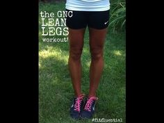 GNC Summer Series: Lean Legs Workout