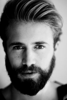 Oh yeah beard. #Men's #hair #stylisations - more inspirations from #pszenic