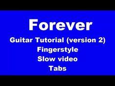 Forever guitar lesson