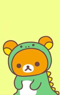 Sanrio Wallpaper, Cute Wallpaper For Phone, Kawaii Wallpaper, Cellphone Wallpaper, Iphone Wallpaper, Lock Screen Wallpaper, Kawaii Drawings, Cute Drawings, Rilakuma Wallpapers