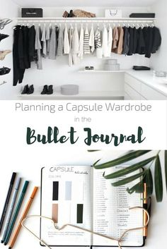 Planning a capsule wardrobe in the Bullet Journal - Carlotta - . - Planning a capsule wardrobe in the Bullet Journal – Carlotta – - Minimalist Closet, Minimalist Fashion, Minimalist Style, Minimalist Living, Style Hippy, French Capsule Wardrobe, Capsule Wardrobe How To Build A, Staple Wardrobe Pieces, Capsule Wardrobe Work