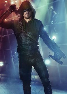 """Arrow""/""The Flash"" Character Poster: Arrow"