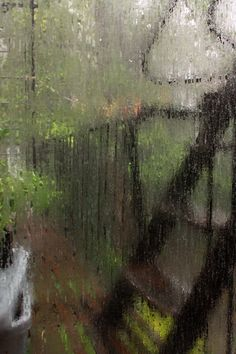 rainy days give me peace